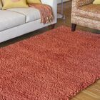 Bonney Hand Woven Wool Rust Red Area Rug Rug Size: Rectangle 8' x 10'6