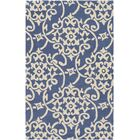 Millwood Hand-Tufted Violet/Butter Area Rug Rug Size: Rectangle 4' x 6'
