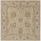 Millwood Hand-Tufted Green/Brown Area Rug Rug Size: Square 9'9