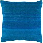 Jabari Throw Pillow Fill Material: Down Fill, Color: Sky Blue