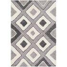 Marketfield Soft Geometric Gray Area Rug Rug Size: Rectangle 5'3