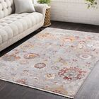 Drumnasmear Vintage Persian Traditional Gray/Red Area Rug Rug Size: Runner 2'7