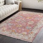 Mali Vintage Persian Traditional Bright Red Area Rug Rug Size: Rectangle 9' x 12'10