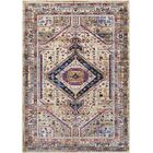 Walferdange Bright Pink/Camel Area Rug Rug Size: Rectangle 5' x 7'3