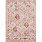 Lyngby-Taarbæk Lilac/Bright Yellow Area Rug Rug Size: Rectangle 5'3