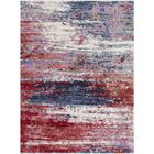 Faye Modern Abstract Red Area Rug