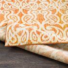 Courtney Orange Area Rug Rug Size: Rectangle 5'2
