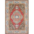 Tillamook Rose/Brown Area Rug Rug Size: Runner 2'7
