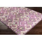 Pugh Modern Geometric Bright Purple/Butter Area Rug Rug Size: Rectangle 5'2