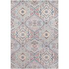 Siesta Key Traditional Hand Woven Sky Blue/Gray Area Rug Rug Size: Rectangle 5'3