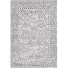 Riverbend Traditional Floral Gray Area Rug Rug Size: Rectangle 7'10