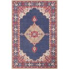 Edgerly Hand Tufted Wool Navy Area Rug Rug Size: Rectangle 5' x 7'6