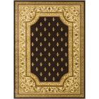 Arledge Classic Dark Brown/Khaki Area Rug Rug Size: Rectangle 6'7