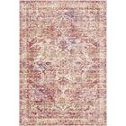 Richmond West Burnt Brown/Cream Area Rug Rug Size: Rectangle 5' x 7'3
