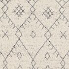 Hudgens Distressed Cream/Gray Area Rug Rug Size: Runner 2'7