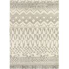 Thelma Hand-Knotted Wool Beige/Light Gray Area Rug Rug Size: Rectangle 5'7