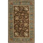 Queenswood Chocolate/Ivory Rug Rug Size: Rectangle 8' x 10'