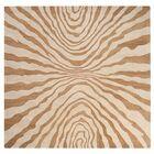Halpin Beige/Caramel Rug Rug Size: Square 8'
