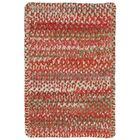 Wilhelmine Orange Area Rug Rug Size: Cross Sewn 5' x 8'