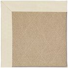Lisle Machine Tufted Sandy and Brown Indoor/Outdoor Area Rug Rug Size: Rectangle 5' x 8'