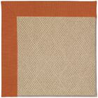 Lisle Machine Tufted Russett/Brown Indoor/Outdoor Area Rug Rug Size: Rectangle 4' x 6'