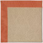 Lisle Machine Tufted Clay/Brown Indoor/Outdoor Area Rug Rug Size: Round 12' x 12'