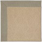 Lisle Machine Tufted Buff/Brown Indoor/Outdoor Area Rug Rug Size: Rectangle 12' x 15'