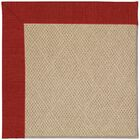 Lisle Machine Tufted Tomatoes and Beige Indoor/Outdoor Area Rug Rug Size: Square 4'