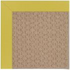 Lisle Machine Tufted Citronella and Beige Indoor/Outdoor Area Rug Rug Size: Square 4'