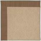 Lisle Machine Tufted Brown Indoor/Outdoor Area Rug Rug Size: Square 6'