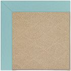 Lisle Machine Tufted Seafaring Blue/Brown Indoor/Outdoor Area Rug Rug Size: Square 10'