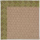 Lisle Machine Tufted Mossy Green and Beige Indoor/Outdoor Area Rug Rug Size: Square 10'