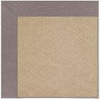 Lisle Machine Tufted Evening/Brown Indoor/Outdoor Area Rug Rug Size: Square 4'
