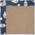 Lisle Machine Tufted Pitch and Beige Indoor/Outdoor Area Rug Rug Size: Rectangle 12' x 15'