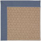 Lisle Machine Tufted Azure/Brown Indoor/Outdoor Area Rug Rug Size: Round 12' x 12'