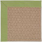 Lisle Machine Tufted Green Indoor/Outdoor Area Rug Rug Size: Square 10'