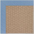 Lisle Machine Tufted Blue/Brown Indoor/Outdoor Area Rug Rug Size: Rectangle 7' x 9'