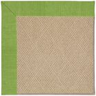Lisle Machine Tufted Grass/Brown Indoor/Outdoor Area Rug Rug Size: Rectangle 4' x 6'