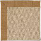 Lisle Machine Tufted Golden Indoor/Outdoor Area Rug Rug Size: Rectangle 8' x 10'