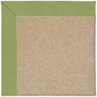 Lisle Machine Tufted Green/Brown Indoor/Outdoor Area Rug Rug Size: Rectangle 8' x 10'