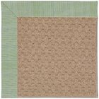 Lisle Machine Tufted Green Spa/Brown Indoor/Outdoor Area Rug Rug Size: Rectangle 5' x 8'