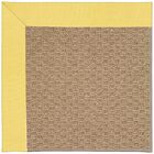Lisle Machine Tufted Yellow/Brown Indoor/Outdoor Area Rug Rug Size: Rectangle 7' x 9'