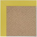 Lisle Machine Tufted Yellow/Brown Indoor/Outdoor Area Rug Rug Size: Rectangle 12' x 15'