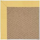 Lisle Machine Tufted Lemon/Brown Indoor/Outdoor Area Rug Rug Size: Rectangle 4' x 6'