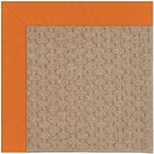 Lisle Machine Tufted Clementine/Brown Indoor/Outdoor Area Rug Rug Size: Rectangle 7' x 9'