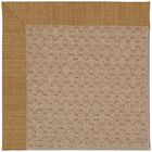 Lisle Machine Tufted Golden/Brown Indoor/Outdoor Area Rug Rug Size: Rectangle 4' x 6'