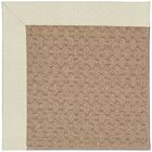 Lisle Machine Tufted Cream/Brown Indoor/Outdoor Area Rug Rug Size: Rectangle 7' x 9'