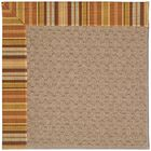Lisle Machine Tufted Indoor/Outdoor Area Rug Rug Size: Rectangle 8' x 10'