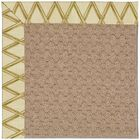 Lisle Machine Tufted Bamboo and Beige Indoor/Outdoor Area Rug Rug Size: Rectangle 3' x 5'