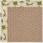 Lisle Machine Tufted Beige Indoor/Outdoor Area Rug Rug Size: Rectangle 4' x 6'